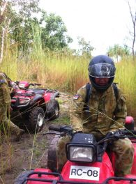 Quad Bike training for the Army